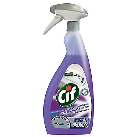 CIF 2 IN 1 DEZINFECTANT DE BUCATARIE 750 ML